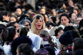Rezo de mujeres judías.