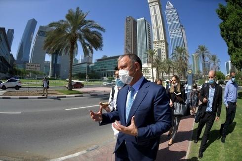 El emprendedor social y de alta tecnología israelí Eral Margalit de gira con empresarios israelíes en Dubai.