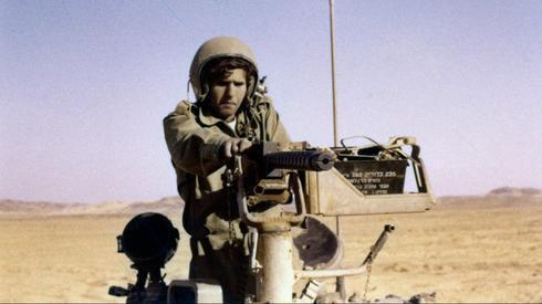 Un soldado israelí durante la Guerra de Yom Kipur en 1973.