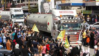 Hezbollah Irán Líbano Combustible