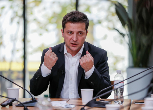 El presidente de Ucrania, Volodymyr Zelensky.