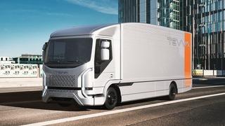 El camión eléctrico de Tevva tendrá una autonomía de hasta 500 kilómetros.