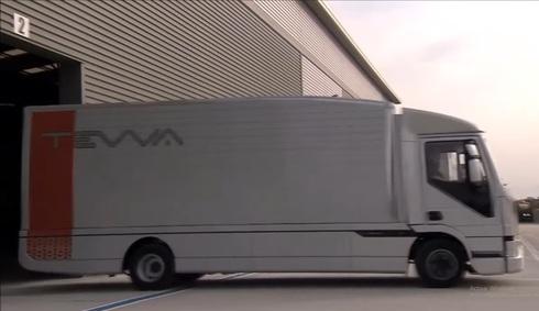 El camión de Tevva tendrá una autonomía de 500 kilómetros.