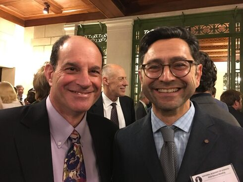Los ganadores del Nobel de Medicina: David Julius y Ardem Patapoutian.