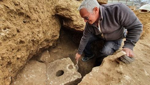 Yaakov Billig, director de la excavación.
