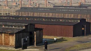 Campo de exterminio de Auschwitz-Birkenau en Polonia.