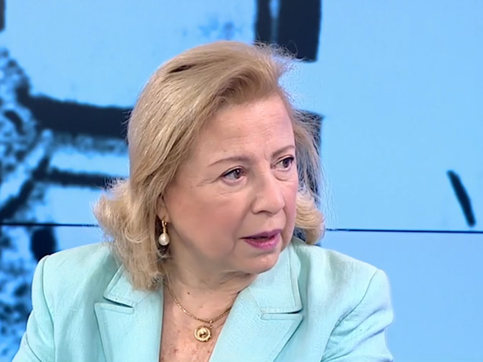 Colette Avital, exparlamentaria por Avodá en una entrevista en 2016.