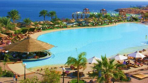 Pyramisa Beach Resort, en Sharm El-Sheikh.