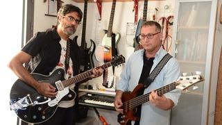 Eitan Fisher y Elad Shufan, docentes universitarios y músicos.