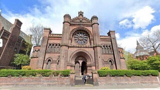 Sinagoga de Princes Road en Liverpool, Reino Unido.