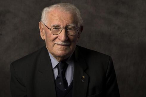 Eddie Jaku, sobreviviente del Holocausto.
