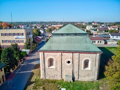 Antigua sinagoga de Peshischa.