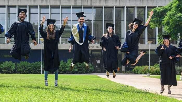 Graduados del Techion de Haifa en 2020.