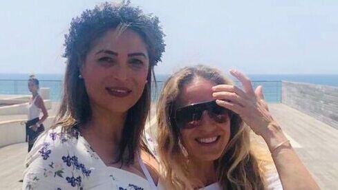 Sarah Jessica Parker con Doris Hifawi en Jaffa en 2019.