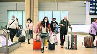 Los turistas vuelven a Israel.