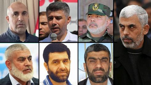 Algunos de los prisioneros liberados en el acuerdo Shalit.