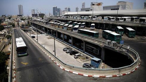 Estación central de autobuses de Tel Aviv.