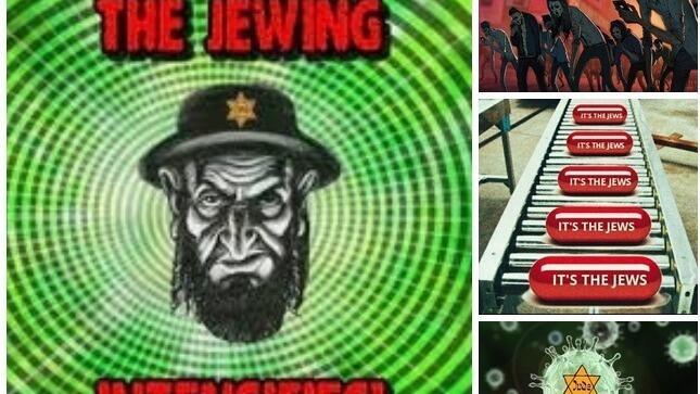 Un Publicaciones en las redes sociales culpan a los judíos por la pandemia.acusa a los judíos de perpetrar el ataque contra las Torres Gemelas.